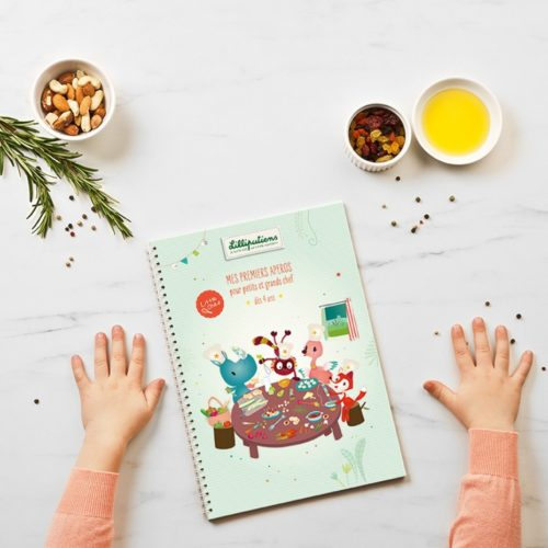 Livre de recettes d'apéritifs Little Chef Lilliputiens