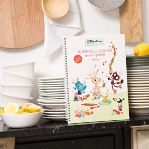 Livre Mes Premières Recettes aux Fruits Little Chef Lilliputiens