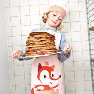 Tablier et toque Little Chef Lililputiens