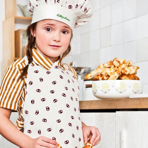 Tablier et toque Emoti-Georges Little Chef Lililputiens