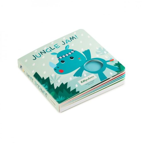 Livre tactile et sonore Jungle Jam Lilliputiens