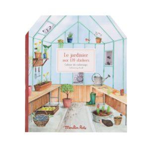 Cahier de stickers Le Jardinier Moulin Roty