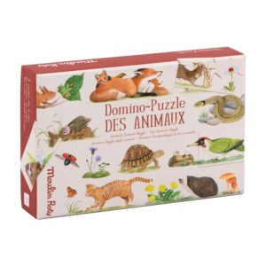 Domino Puzzle des animaux de Moulin Roty