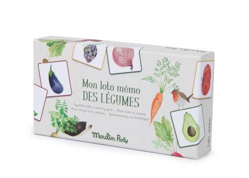 Loto Mémo des Légumes de Moulin Roty