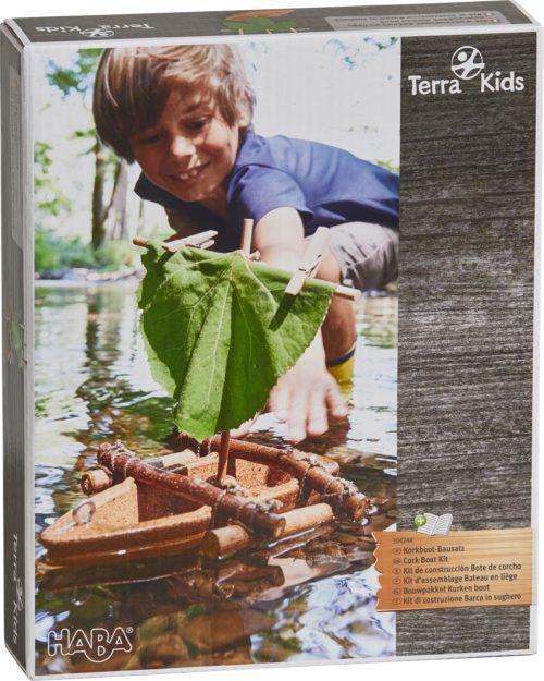 Kit assemblage bateau en liège Terra Kids de Haba