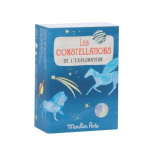 Constellations d'étoiles phosphorescentes de Moulin Roty