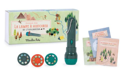 Lampe à histoires Explorateur Moulin Roty