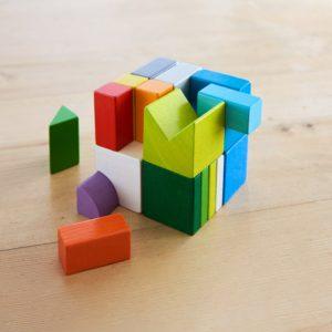 Jeu d'assemblage cubes mix de Haba