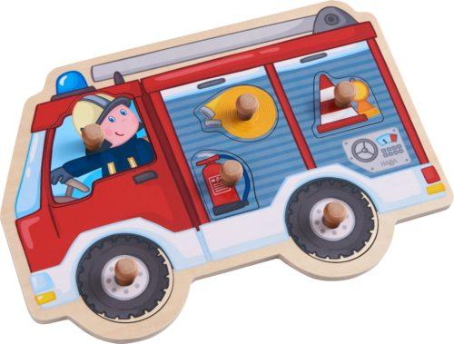 Puzzle à boutons Camion de Pompiers de Haba