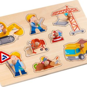 Puzzle à boutons Chantier de Haba