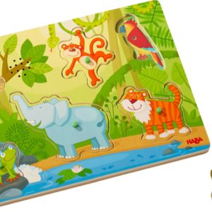 Puzzle sonore jungle Haba