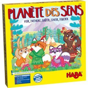 """Jeu """"La Planète des Sens"""" de Haba."""